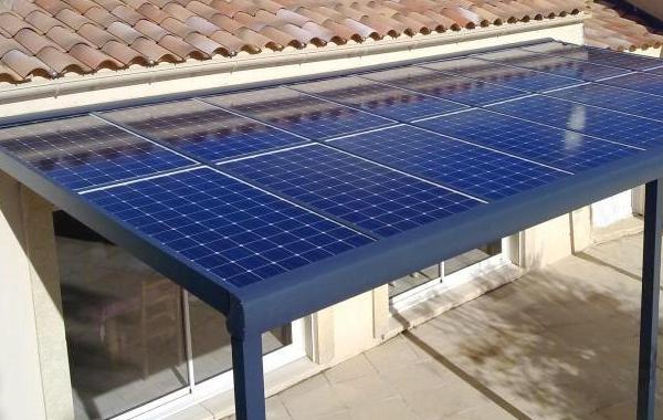 Pergola solaire à Royan