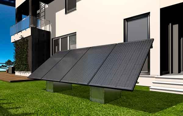 Panneaux solaires au sol à Saintes charente maritime